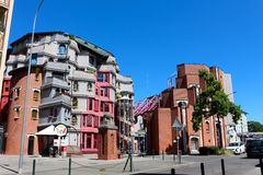 Мнимый мир Smurfs, Женевы, Швейцарии Стоковые Изображения RF