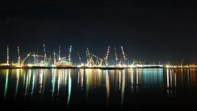 многодельный взгляд порта s singapore стоковое изображение rf