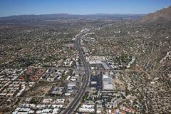 Многодельный хайвей Tucson стоковая фотография rf
