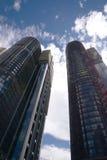 Многоквартирные дома горизонта города Сиднея Австралии Стоковая Фотография RF
