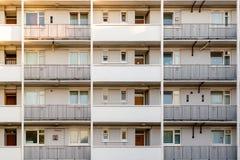 Многоквартирный дом совету в Bermondsey, Лондоне Стоковое Фото