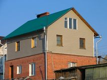 многоквартирный дом Стоковое Изображение