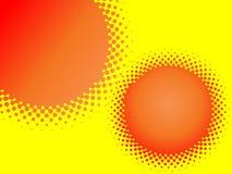многоточие круга ретро Стоковые Фотографии RF