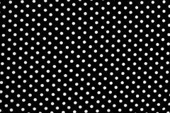 многоточия предпосылки черные белые Стоковые Фотографии RF