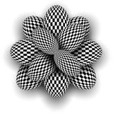 Многоточия предпосылки 3d checkered бесплатная иллюстрация