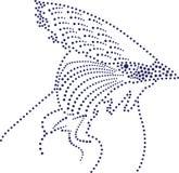 многоточия птицы Стоковое Фото