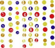 многоточия alphanumero Стоковое Изображение
