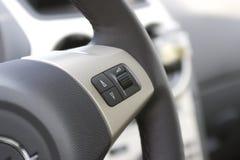 многофункциональное рулевое колесо Стоковое Фото
