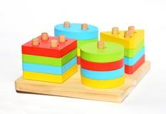 Многофункциональные материалы montessori игрушек Учить Montessori & метод образования для образования детей Игрушки Montessori стоковое изображение rf