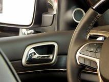 Многофункциональные дизайн и управления рулевого колеса Стоковое Изображение
