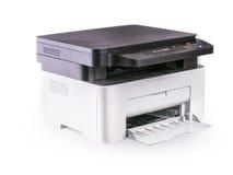 Многофункциональный принтер изолированный на белизне Стоковые Изображения RF