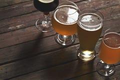 Многочисленные типы пива Стоковая Фотография RF