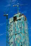 Многоэтажное здание современно в городе Бангкока стоковое изображение rf