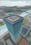 Многоэтажное здание Стоковое Изображение