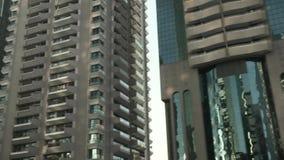 Многоэтажные здания Дубай видеоматериал