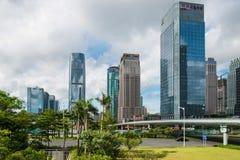 Многоэтажные здания Стоковая Фотография RF
