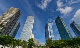 Многоэтажные здания Стоковые Изображения RF