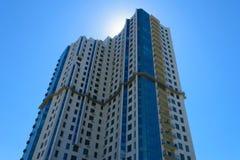 Многоэтажный жилой дом Стоковое Изображение RF
