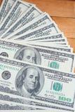 Много банкнот долларов Стоковое Изображение