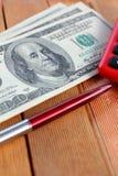Много банкнот долларов Стоковое Изображение RF