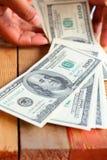 Много банкнот долларов Стоковые Фотографии RF