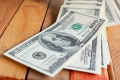 Много банкнот долларов Стоковые Изображения