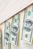 Много банкнот долларов Стоковое Фото