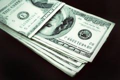 Много банкнот долларов Стоковая Фотография