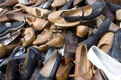 много ботинок Стоковые Фотографии RF
