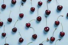 Много вишни, конец-вверх Стоковое Изображение