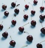 Много вишни, конец-вверх Стоковые Изображения