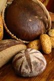 Много видов хлеба Стоковые Изображения