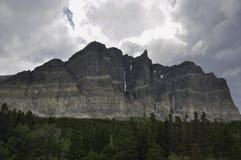 Много вход ледника к национальному парку ледника Стоковое Изображение