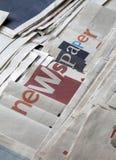 Много газеты Стоковые Фотографии RF