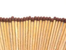 Много деревянных ручек спички стоковое фото