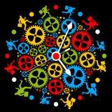многодельная жизнь иллюстрация вектора