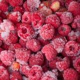 Много замороженных ягод для естественной предпосылки Селективный фокус Стоковые Изображения RF
