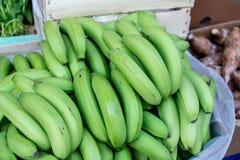 Много зеленый банан для надувательства Стоковая Фотография