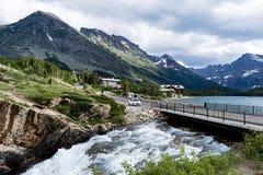 Много зона ледника национального парка ледника Стоковое фото RF