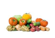 много зрелых овощей Стоковое фото RF