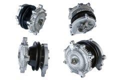 Много изображений муфты охлаждающего вентилятора двигателя Стоковое Изображение RF