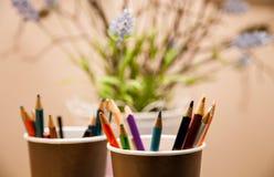 много карандашей Стоковая Фотография RF