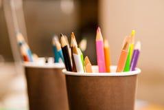 много карандашей Стоковое Фото