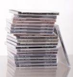 Много компактных дисков Стоковое Изображение