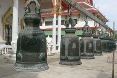Много колокол около тайской церков Стоковые Изображения RF