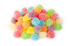 Много красочная камедеобразная конфета Стоковые Изображения RF