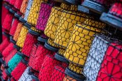 Много красочных китайских фонариков, Китай стоковые изображения rf