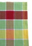 Много красят ткань на белой предпосылке стоковое изображение rf