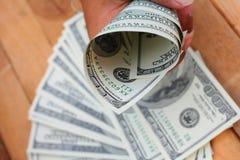Много кредиток долларов Стоковая Фотография RF