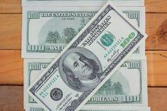Много кредиток долларов Стоковое фото RF